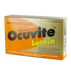 Ocuvite Lutein 60 Comprimidos complemento micronutricional