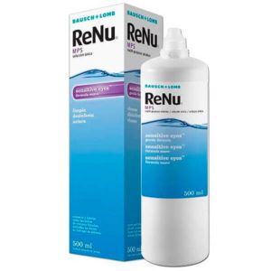 ReNu MPS Sensitive Eyes 500 ml líquido lentillas Bausch & Lomb