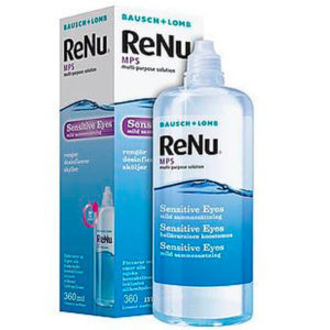 Renu MPS Sensitive Eyes Ojos Sensibles 360ml: Solución Única líquido para lentillas
